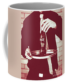 Red Retro Coca-cola Coffee Mug
