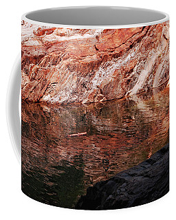 Red River Coffee Mug by Donna Blackhall