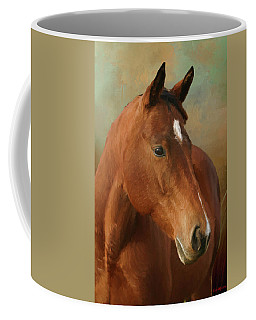 Coffee Mug featuring the painting Red River - Painted by Ericamaxine Price