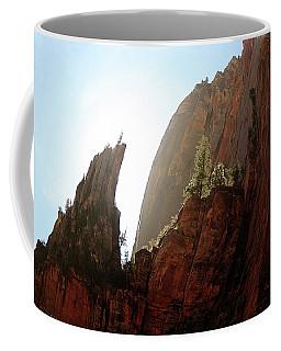 Red Rock At Zion Coffee Mug