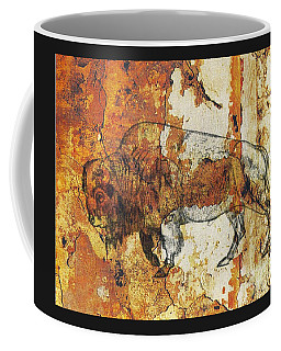 Red Rock Bison Coffee Mug