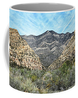 Coffee Mug featuring the photograph Red Rock Canyon - Nevada by Glenn McCarthy Art and Photography