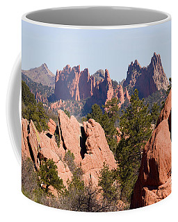 Red Rock Canyon Open Space Park And Garden Of The Gods Coffee Mug