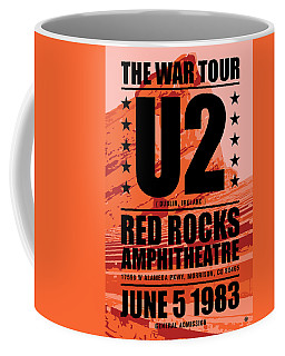 Red Rock Concert Coffee Mug