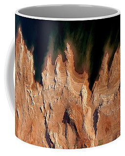Red Rock Feathers Coffee Mug
