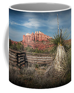 Coffee Mug featuring the photograph Red Rock Formation In Sedona Arizona by Randall Nyhof