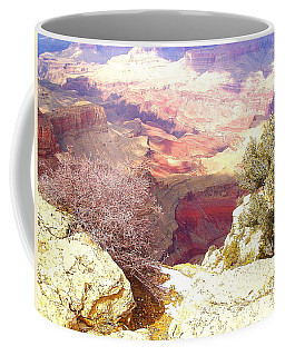 Red Rock Coffee Mug by Marna Edwards Flavell