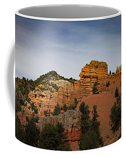Coffee Mug featuring the photograph Red Rock Of Utah Morning by Kathleen Scanlan
