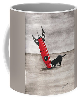 Red Rocket Coffee Mug by Edwin Alverio
