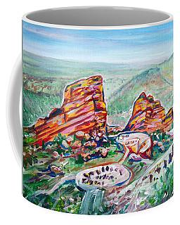 Red Rocks Amphitheatre Coffee Mug