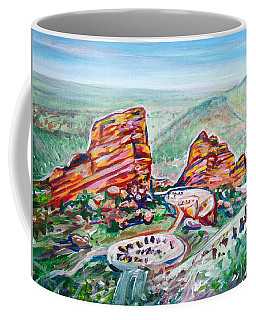 Red Rocks Amphitheatre Coffee Mug