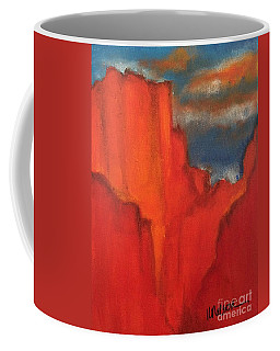 Coffee Mug featuring the painting Red Rocks by Kim Nelson