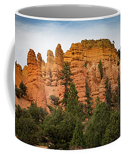 Coffee Mug featuring the photograph Red Rocks Of Utah by Kathleen Scanlan