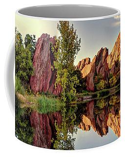 Red Rocks Reflection Coffee Mug