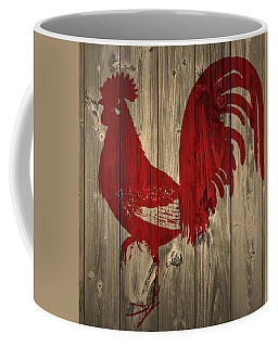 Red Rooster Barn Door Coffee Mug