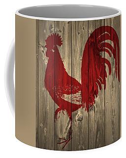 Red Rooster Barn Door Coffee Mug