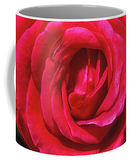 Coffee Mug featuring the photograph Red Rose by John Brink