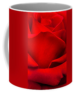 Red Rose Petals Coffee Mug