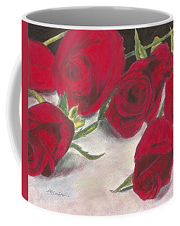 Red Rose Redux Coffee Mug