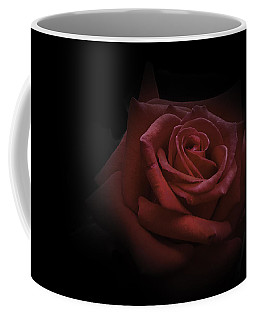 Coffee Mug featuring the photograph Red Rose by Ryan Photography