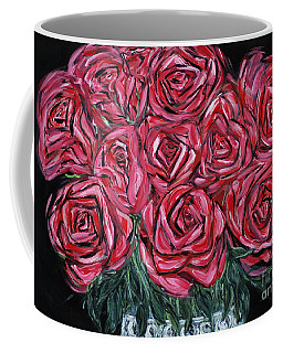 Red Roses. Inspirations Collection. Painting 2015 Coffee Mug