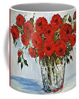 Red Roses Memories Coffee Mug