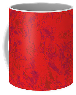 Coffee Mug featuring the photograph Red Rules by Nareeta Martin