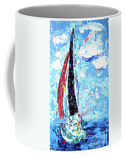 Red Sail Coffee Mug