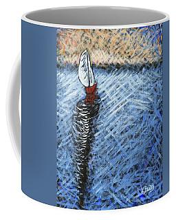 Red Sailboat Coffee Mug