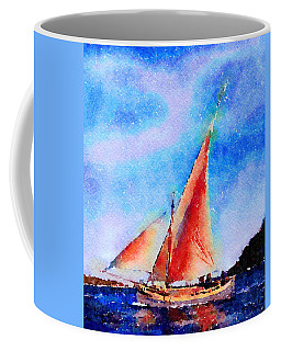 Red Sails Delight Coffee Mug