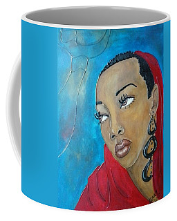 Red Scarf Coffee Mug