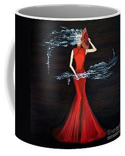 Scented Red Color Coffee Mug