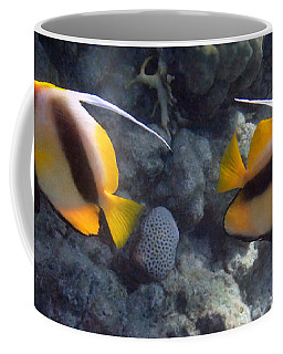 Red Sea Bannerfish 2 Coffee Mug