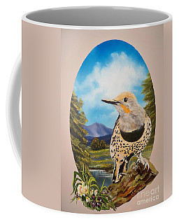 Flying Lamb Productions                       Red Shafted Flicker Coffee Mug