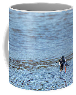 Coffee Mug featuring the photograph Red Shank 02 by Brian Roscorla