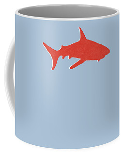Red Shark Coffee Mug