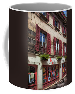 Red Shutters Coffee Mug