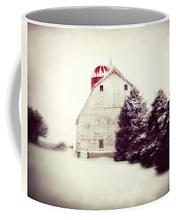 Red Silo Coffee Mug