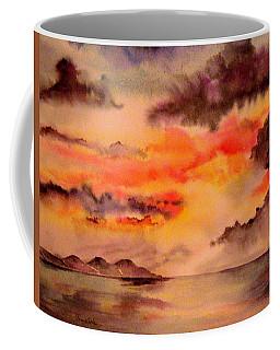 Red Sky At Night Coffee Mug