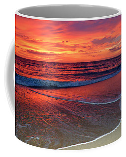 Red Sky In Morning Coffee Mug