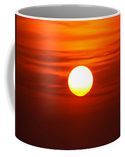 Red Sky Morning Coffee Mug