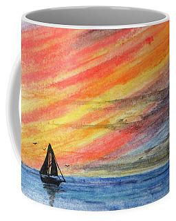 Red Sky Coffee Mug by R Kyllo