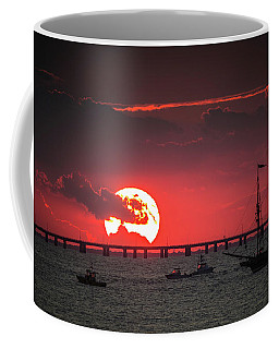 Red Sky Coffee Mug by Scott and Dixie Wiley