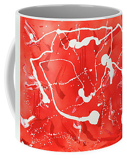 Red Spill Coffee Mug