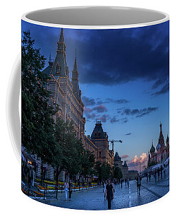 Red Square At Dusk Coffee Mug
