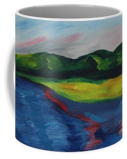 Red Streak Lake Coffee Mug
