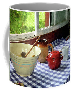 Red Sugar Bowl Coffee Mug