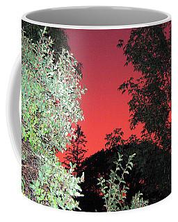 Red Sunset Coffee Mug