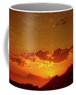 Red Sunset In Africa 2 Coffee Mug