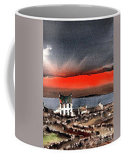 Red Sunset On Bungowla, Aran, Galway Coffee Mug